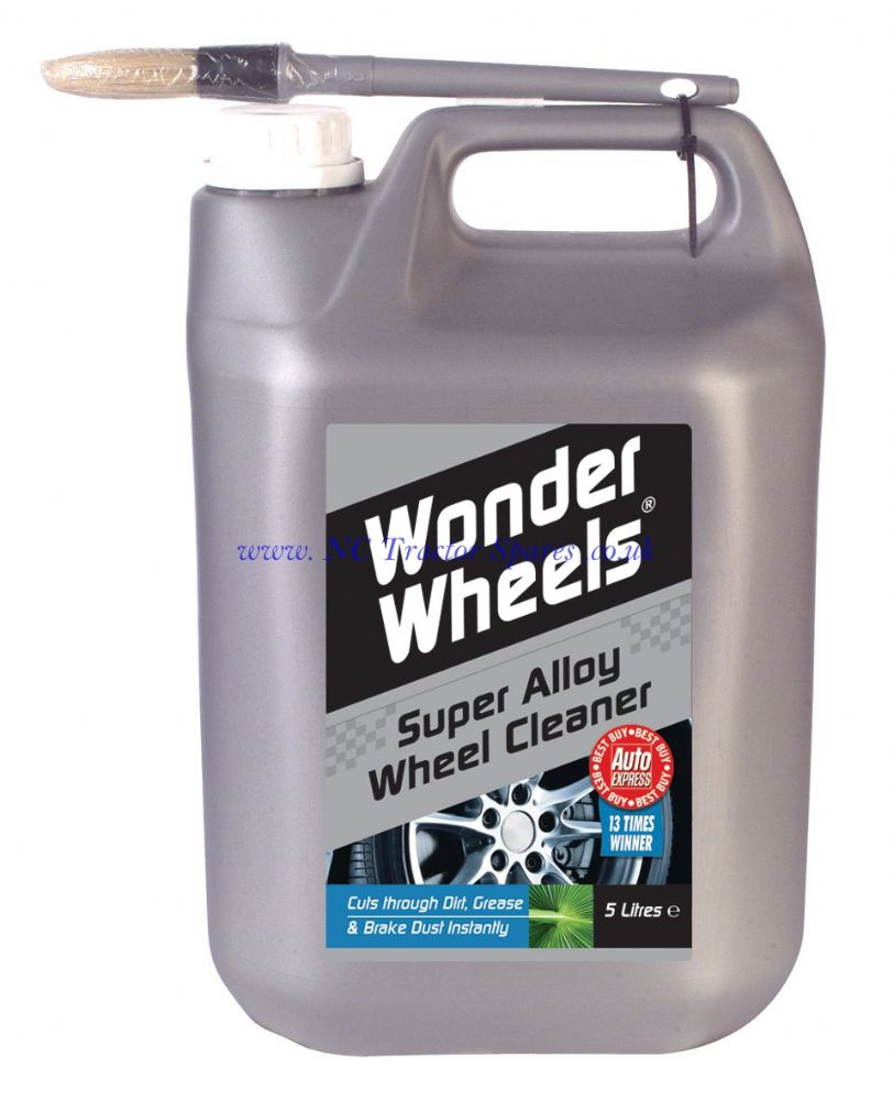 Brake Dust Cleaner >> Wonder Wheels Super Alloy Wheel Cleaner 5 ltr